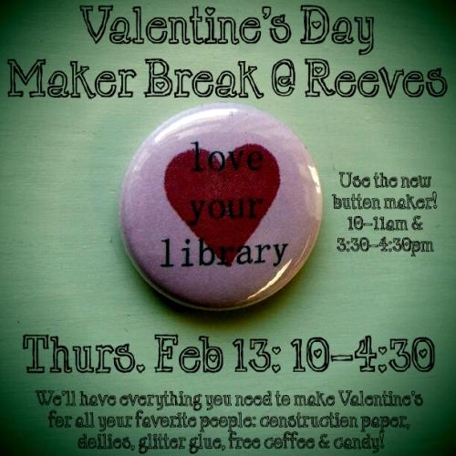 maker break flyer